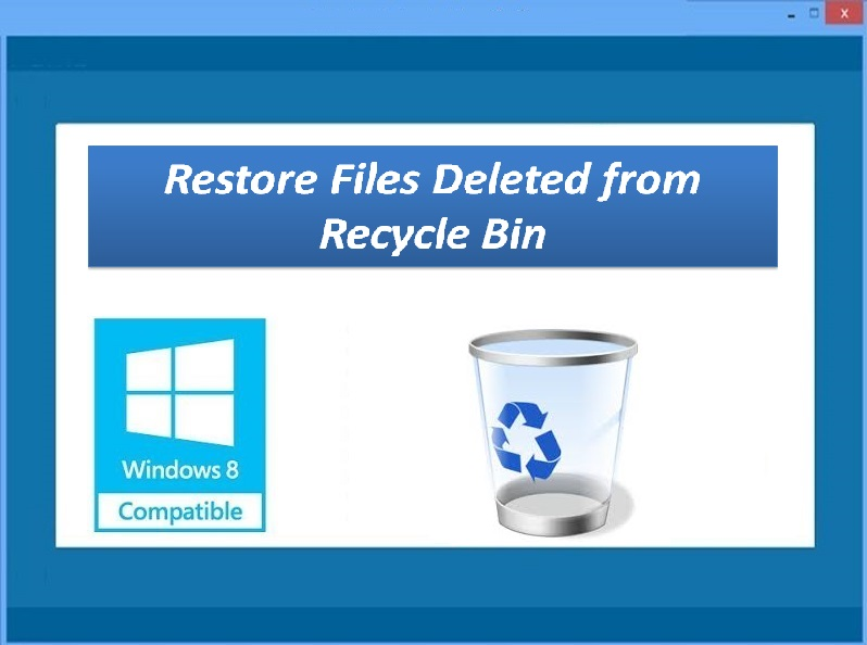 recover recycle bin,recover recycle bin files,recover emptied recycle bin,recover deleted files from recycle bin,restore files deleted from recycle bin,recover from recycle bin